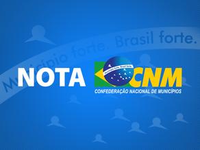 Informe | Nota de esclarecimento do movimento municipalista à população brasileira