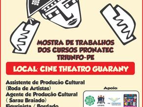 Mostra Pronatec 2018 acontece nesta quarta-feira (25) em Triunfo