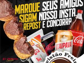 Avistão Freire Supermercado realiza Sorteio Kit Churrasco Completo