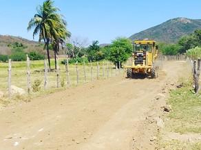 Prefeitura de Triunfo trabalha na recuperação das estradas do Sítio Carro Quebrado e região