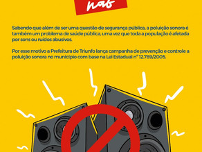 Emissão de ruídos de som em alto volume, pode configurar em crime ambiental