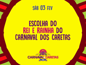 Concurso para a escolha do Rei e Rainha do Carnaval de Triunfo