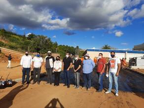 Secretária de Infraestrutura do Governo de Pernambuco, Fernandha Batista, visita Triunfo