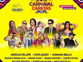 Prefeitura de Triunfo anuncia a programação do Carnaval dos Caretas 2018