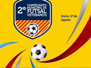 Prefeitura de Triunfo realiza 2° Campeonato Municipal de Futsal Veterano's