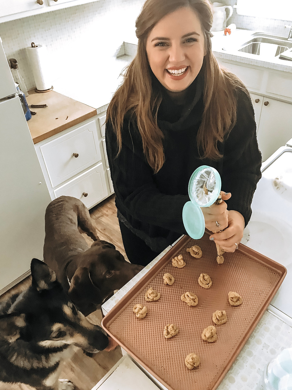 Bake at home dog treats!