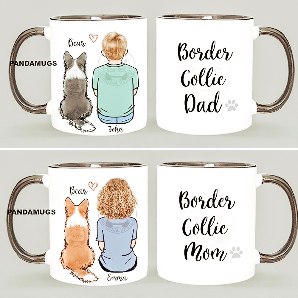 Custom dog breed mugs