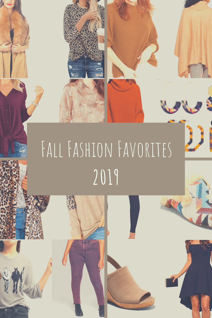 Fall Fashion favorites