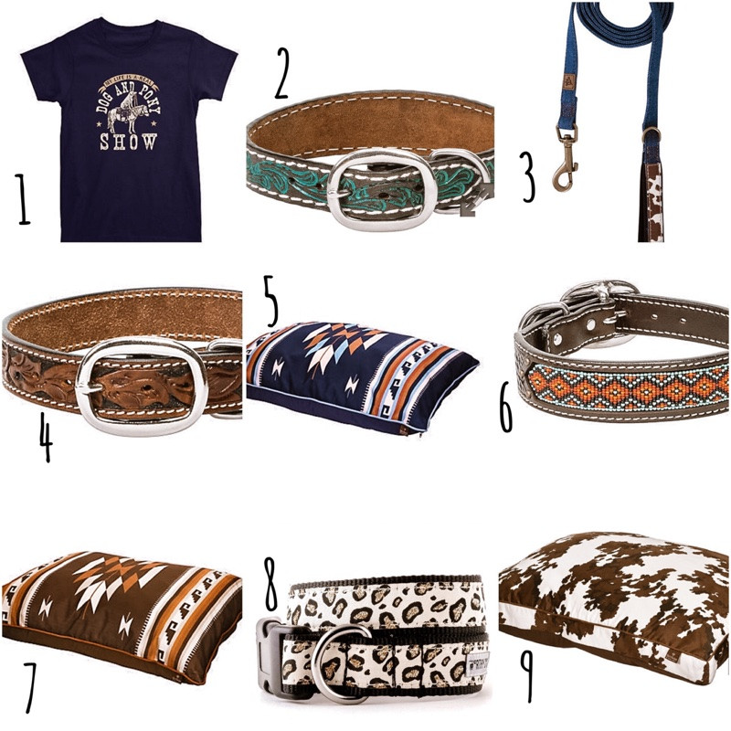 country western dog accessories