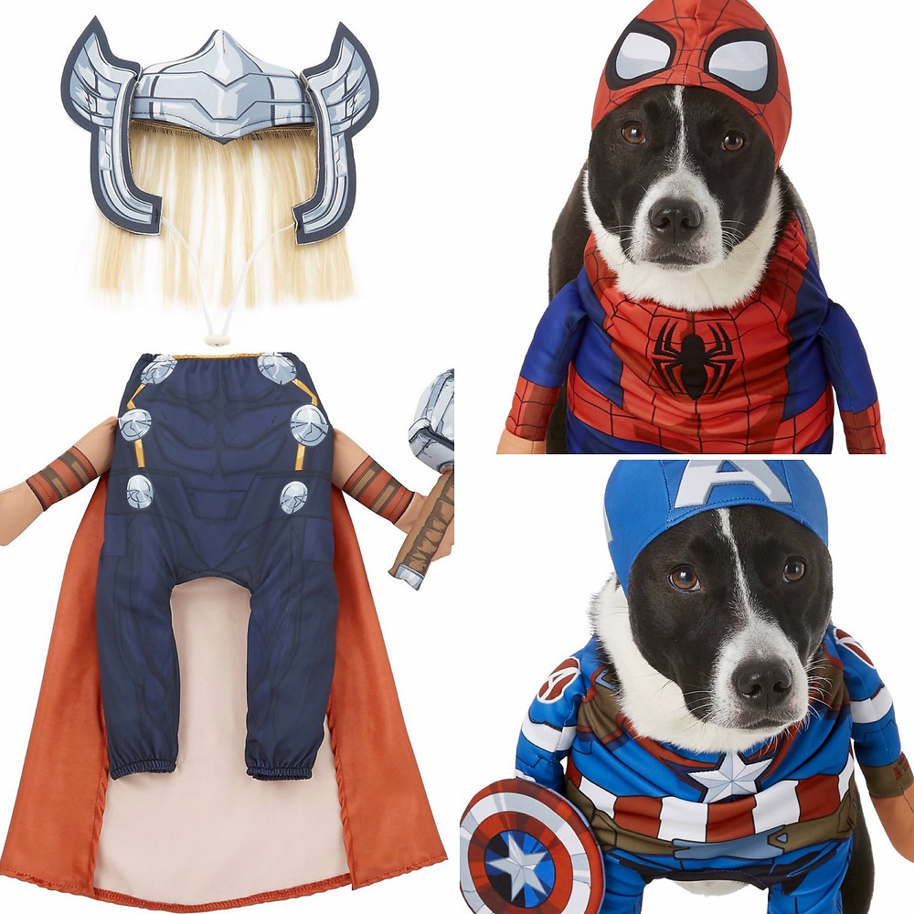 Marvel End Game Costumes Dogs