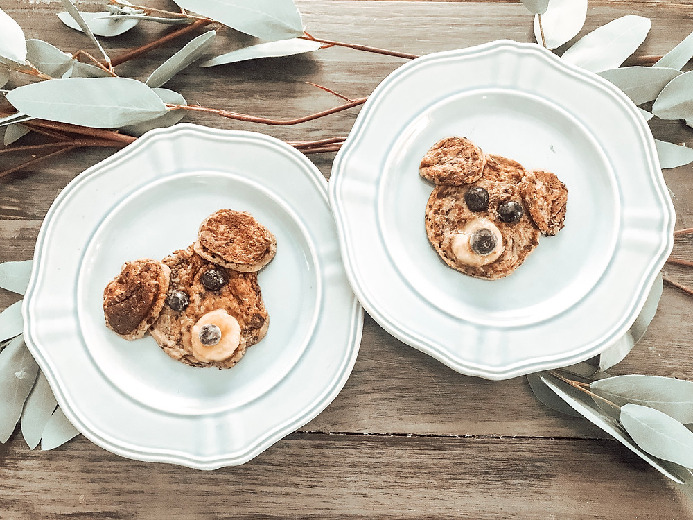 Banana Pancakes for dogs