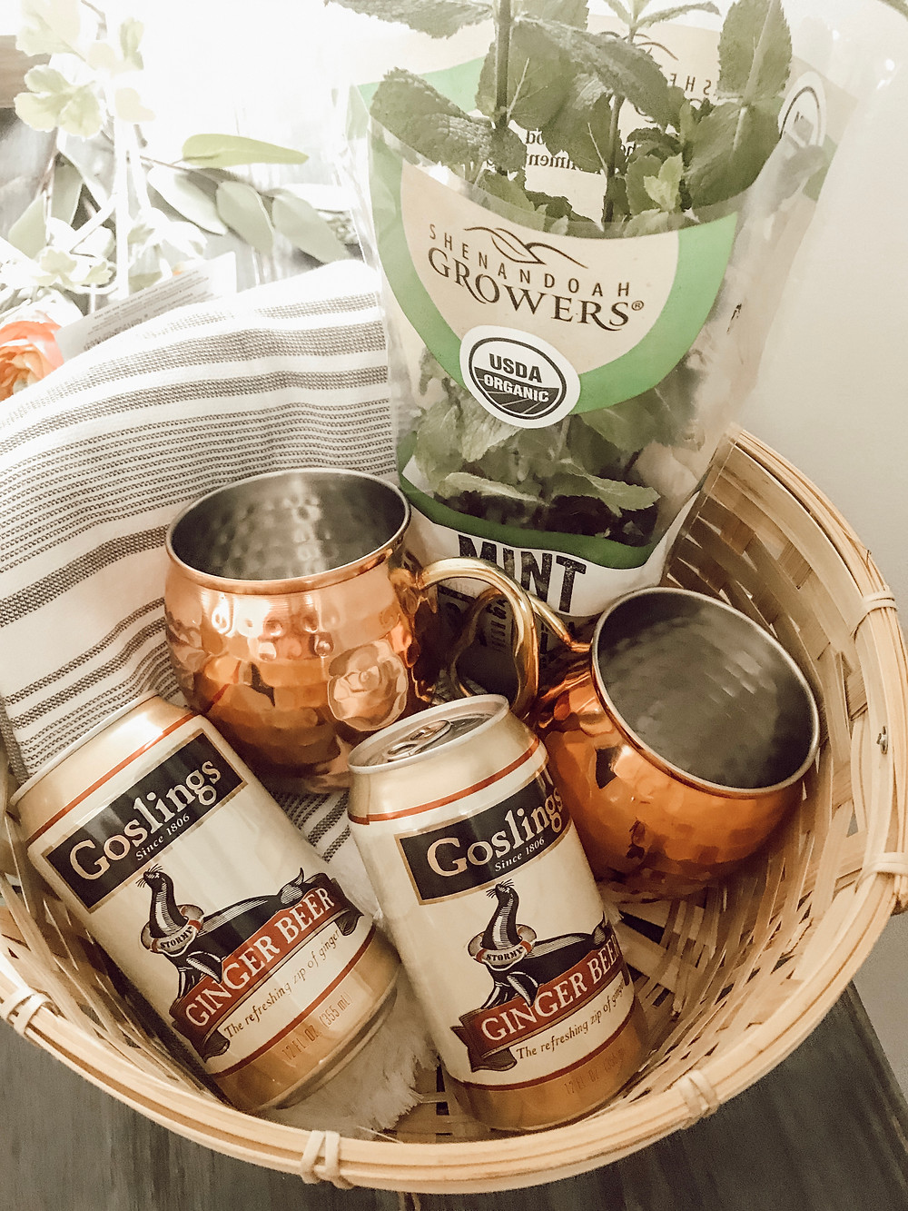 Moscow Mule Basket