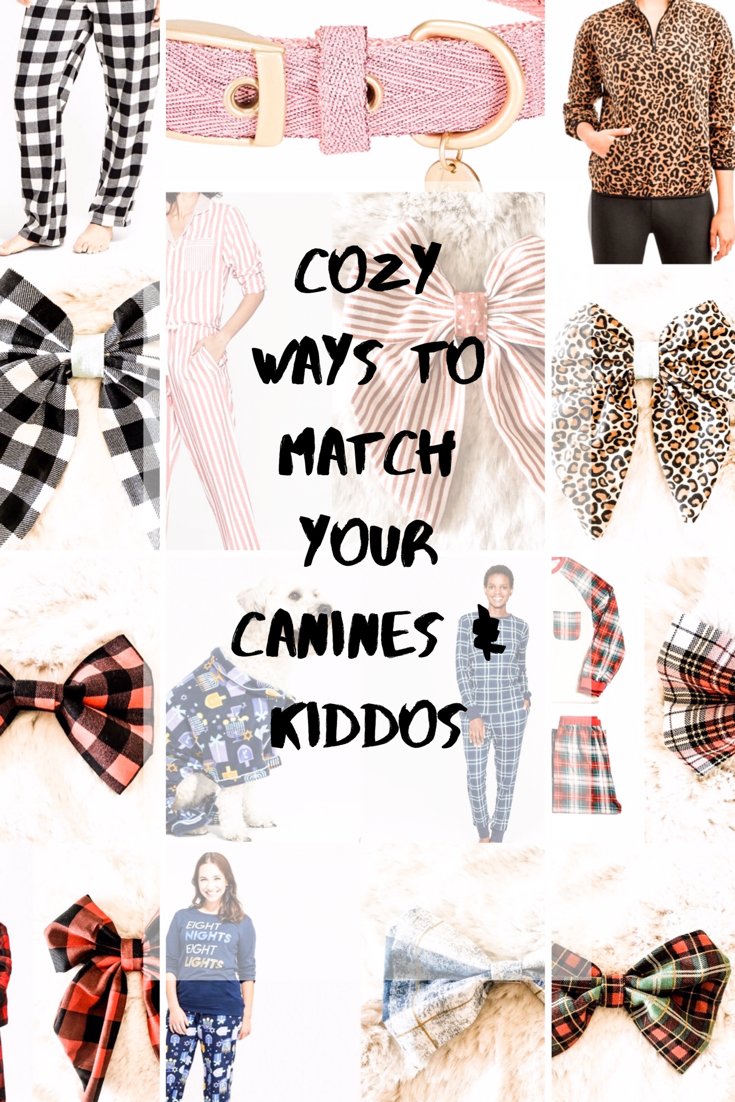 Cozy ways to match your dogs