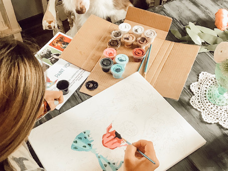 Paint Your Pet With Gray duck Art