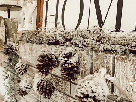 Simple And Cozy Winter Decor