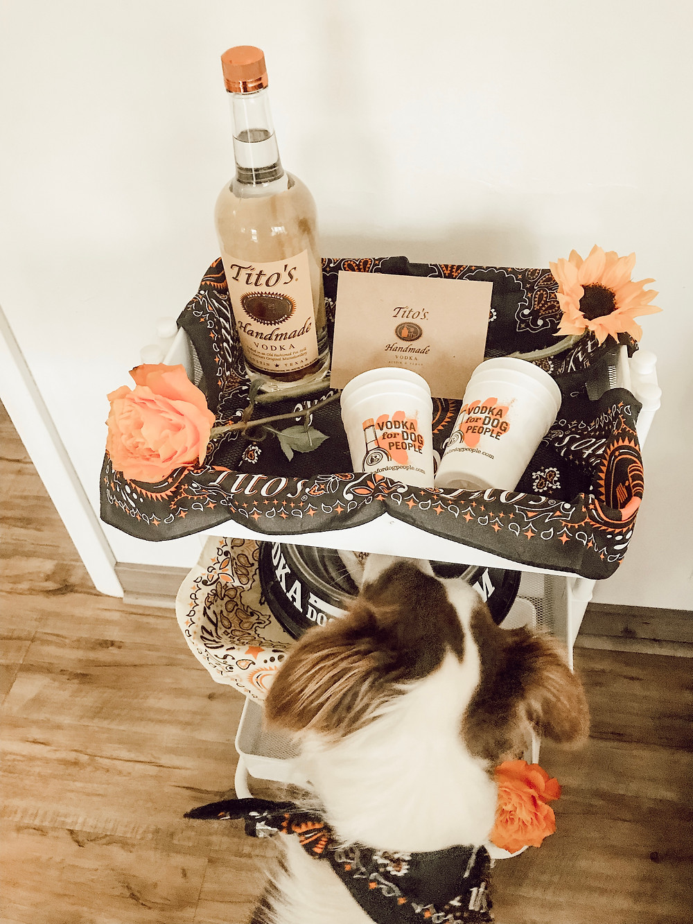 Titos Bar Cart