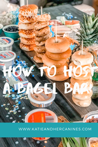 how to host a bagel bar