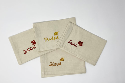 Fall Napkins