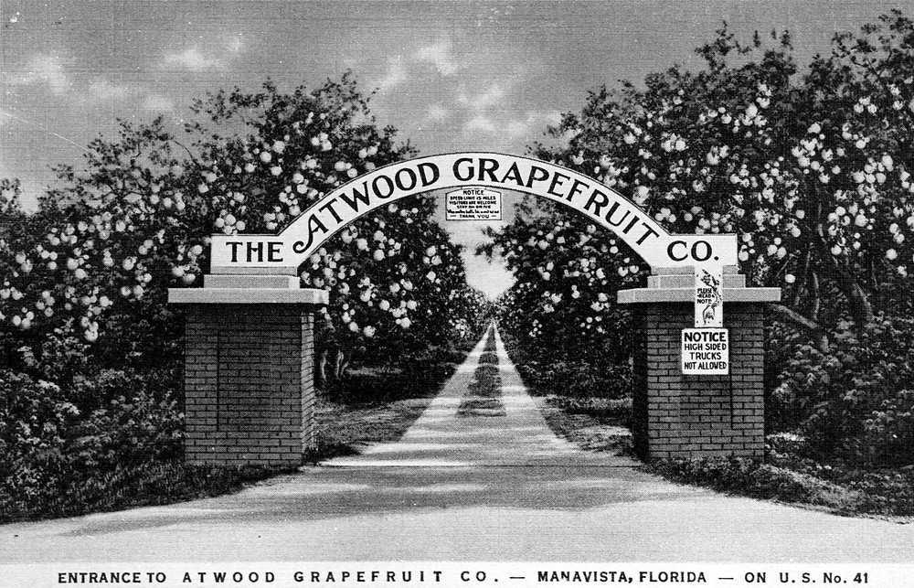 Atwood Grapefruit Co. Front Gate