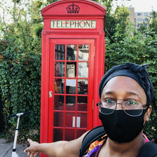 London Icon: London Icon: The red telephone box