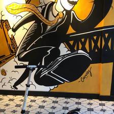 Artwork at Camden