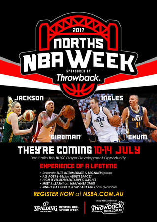 By Jayden Krieg | NORTH'S NBA week.  About the week, why we are running it and how YOU can be a