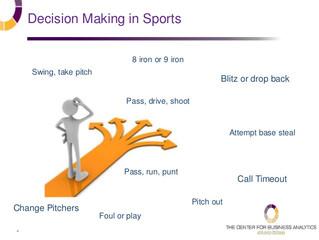 Developing phenomenal, elite decision makers