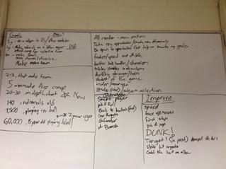 Player development planning workshops