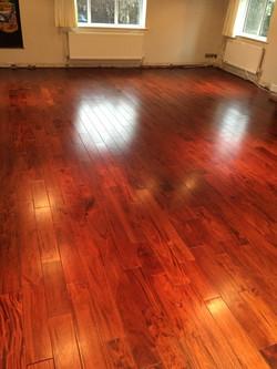 solid wood floor
