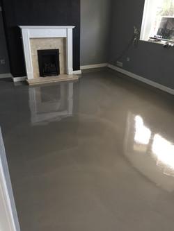 floor levelled