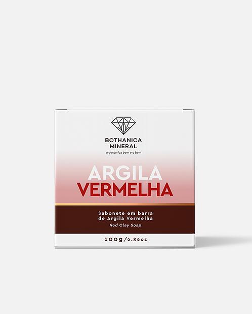 SABONETE EM BARRA DE ARGILA VERMELHA