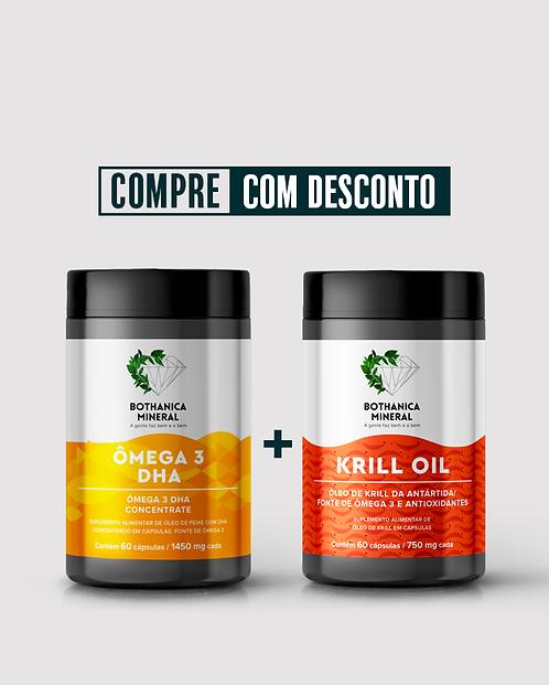 ÔMEGA 3 DHA + KRILL OIL