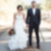 wedding couple on dirt road.jpg