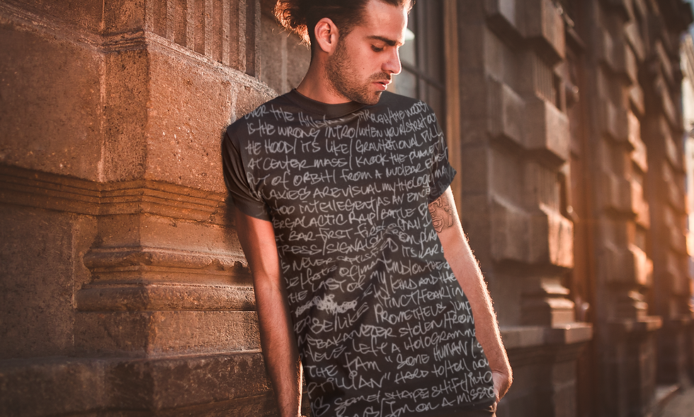 R2E Lyrics T-shirt