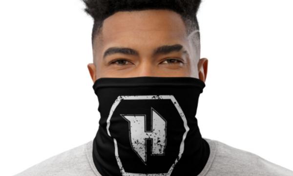 H Icon Neck Gaiter Mask