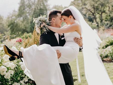 Evan & Macie Reed | Elegant Arboretum Wedding
