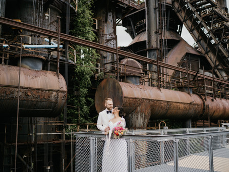 Giulissa + Jeremy | Steel Stacks Wedding