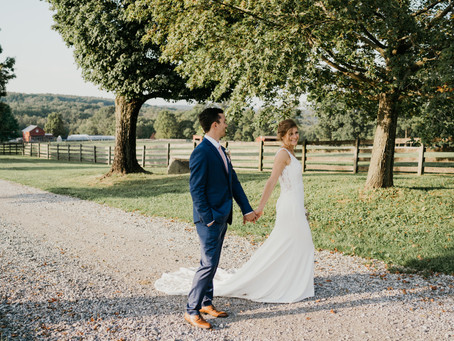 Heather + Brendan | Springton Manor Wedding