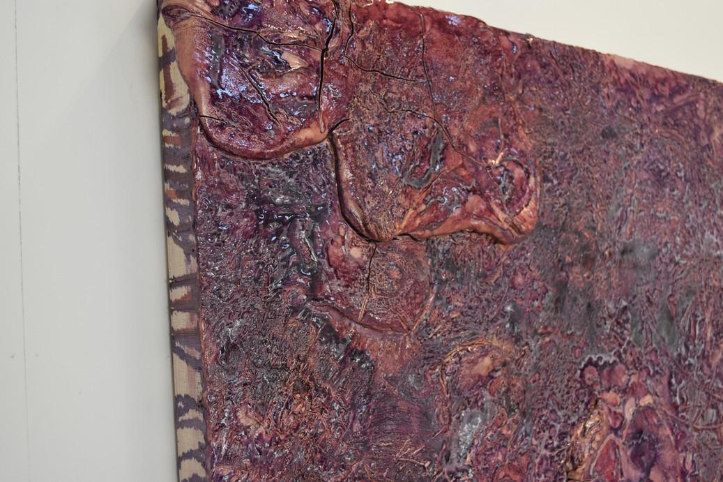 Close up of Untitled (Purple)