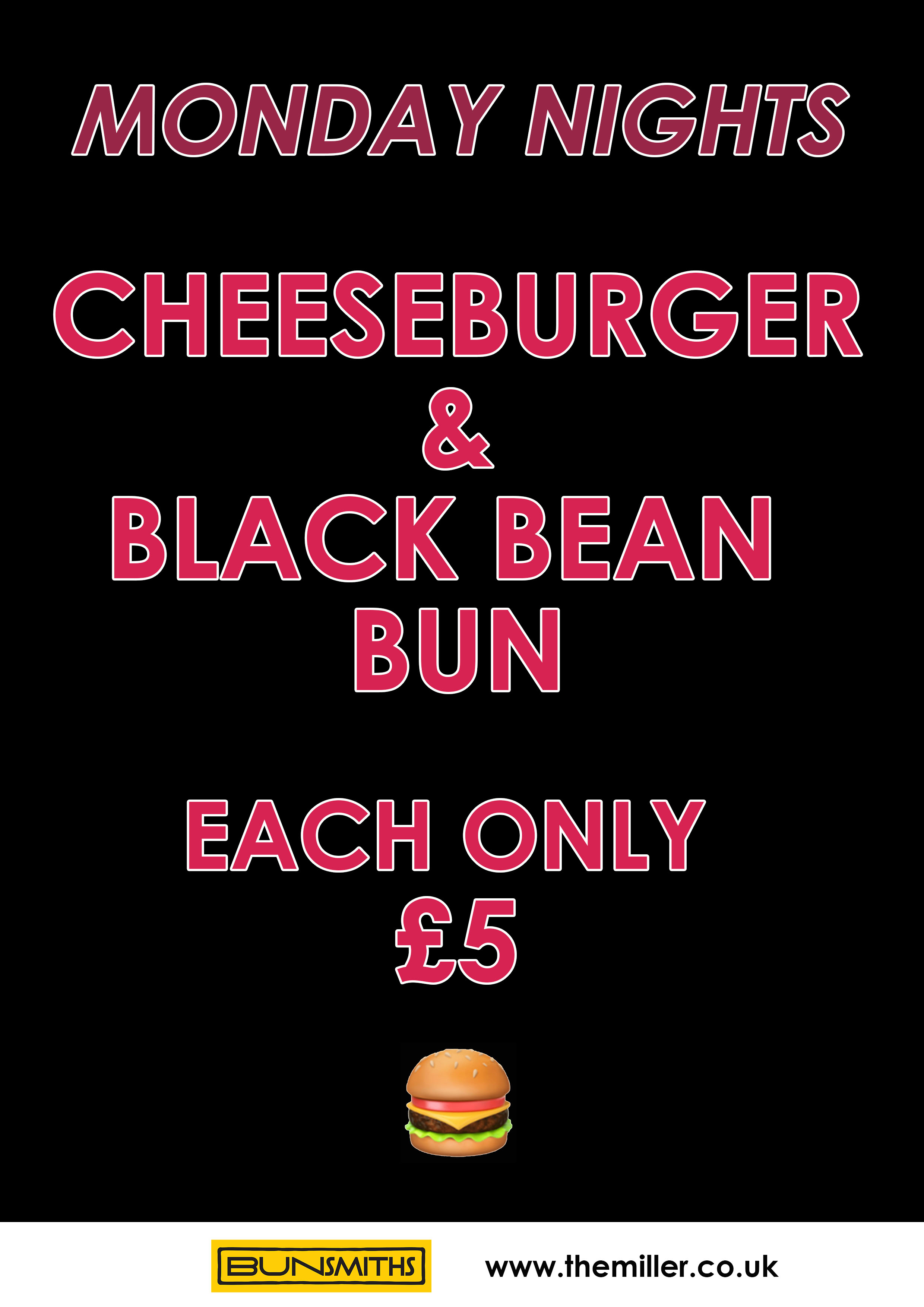 Deals poster Monday