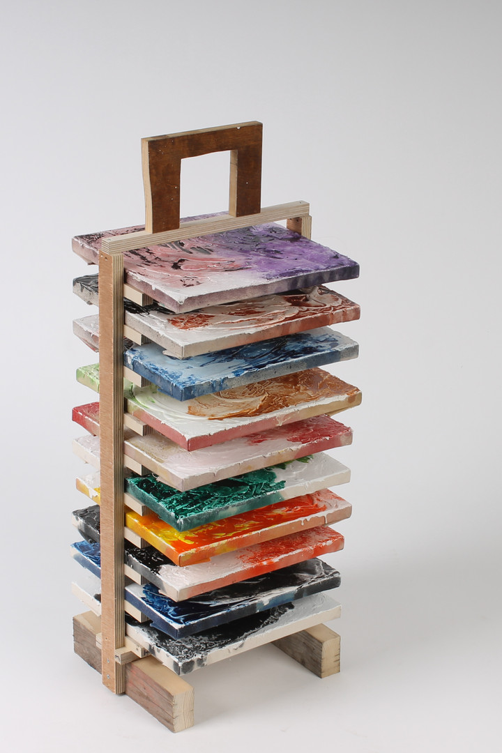 Untitled (Drying rack)