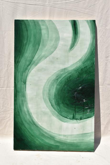 Heliogen Green and Burnt Umbre