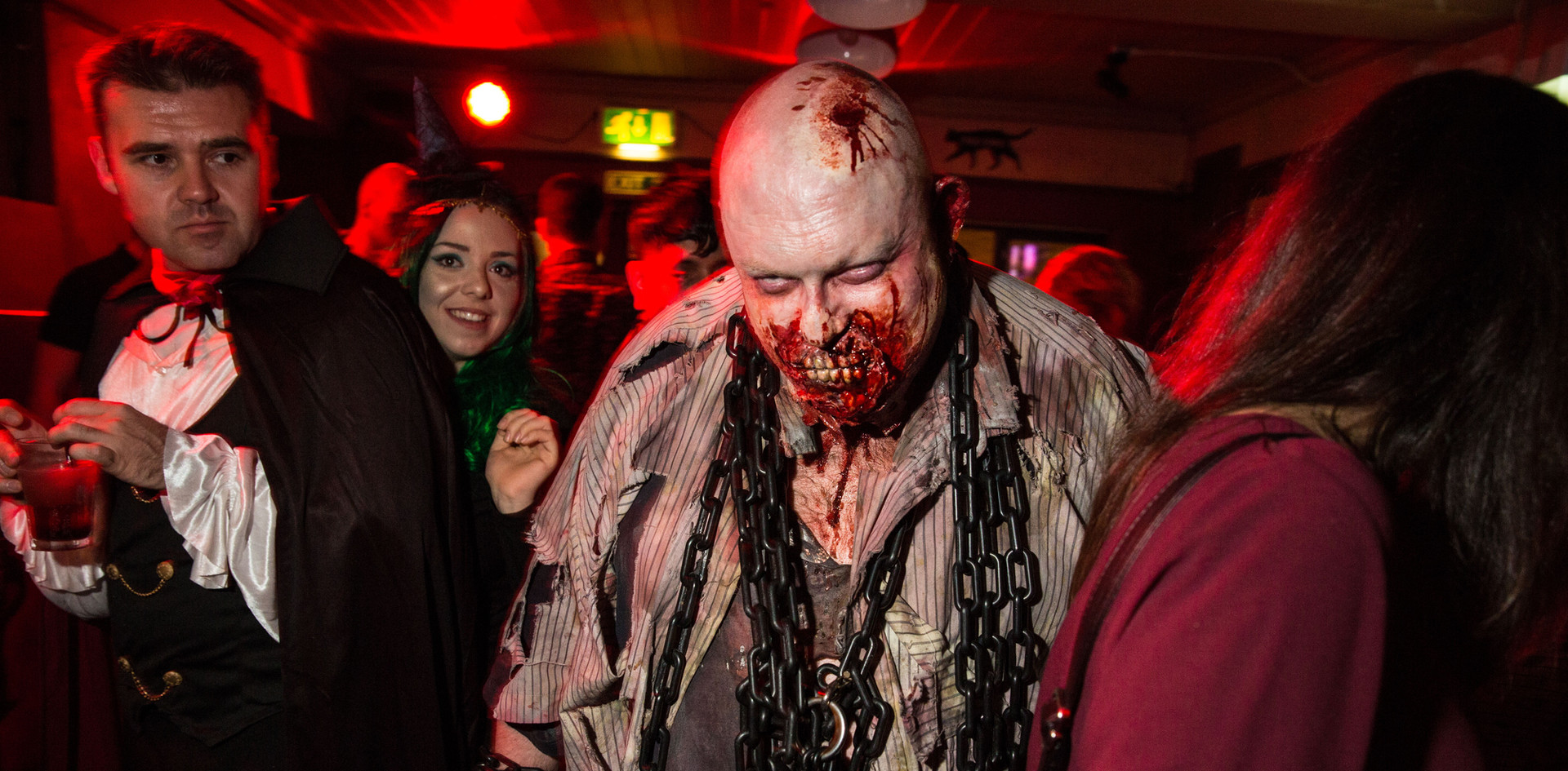 Clive the Zombie at Halloween