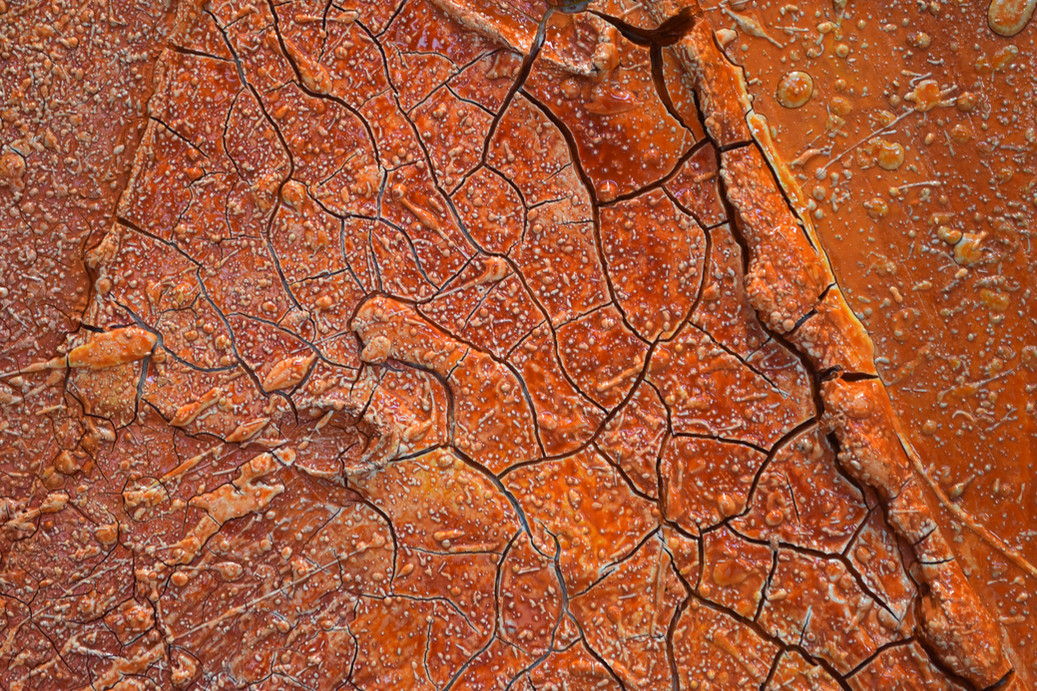 Close up of Hot and Dry