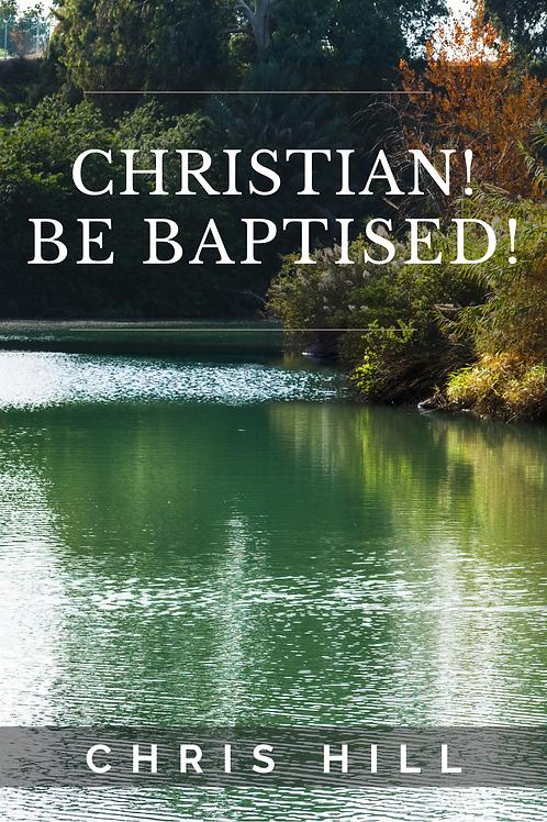 Christian Be Baptised (CD & Booklet Set)