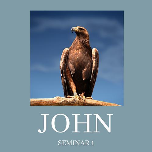 JOHN - Seminar 1