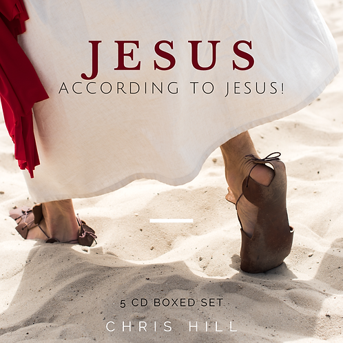 Jesus According to Jesus! (5 CD Boxed Set)
