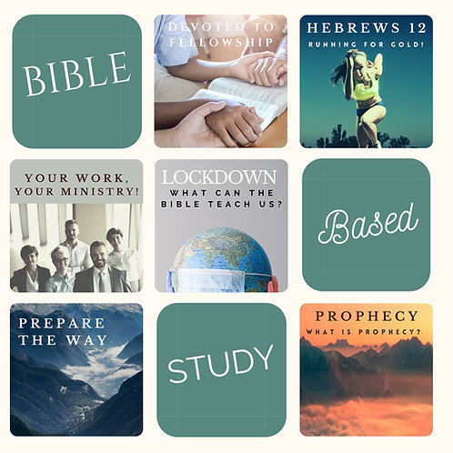 Study Booklet Bundle: 6 Study guides covering todays most pressing topics