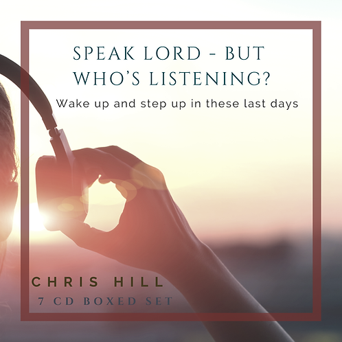 Speak Lord - But Who's Listening? (7 CD Boxed Set)