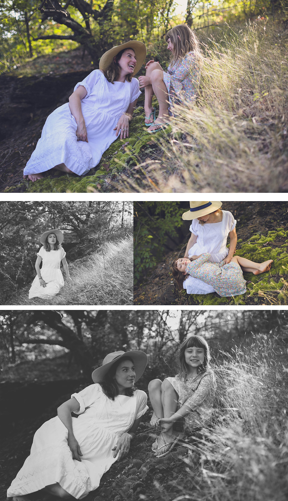 mother daughter maternity session